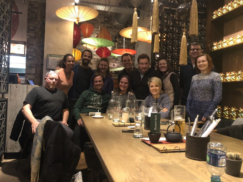 Copyright-BsB19-Dinner-with students from Frankfurt and abroad